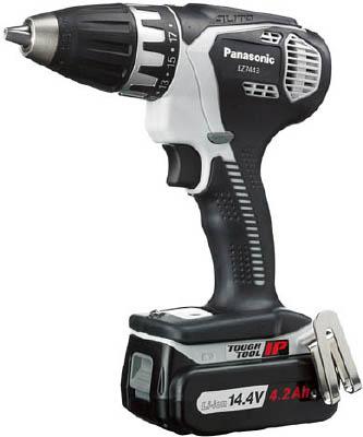 Panasonic 充電自動変速ドリルドライバー(14.4V)【EZ7443LS2S-H】(電動工具・油圧工具・ドリルドライバー)