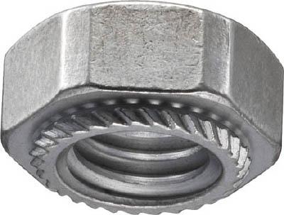POP カレイナット/M3、板厚0.8ミリ以上、S3-07(2000個)【S3-07】(ねじ・ボルト・ナット・ナット)