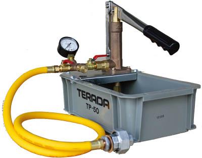 寺田 水圧テストポンプ 手動式【NTP-50】(ポンプ・テストポンプ)