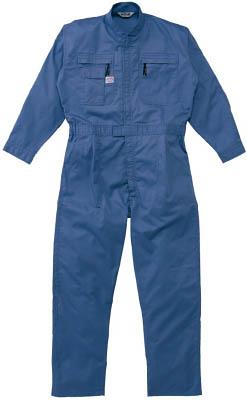 AUTO-BI ツナギ服 3Lサイズ ブルー【5750-BL-3L】(保護具・作業服)