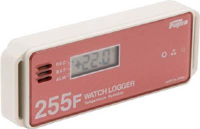 Fujita 表示付温湿度データロガー(フェリカタイプ)【KT-255F】(計測機器・温度計・湿度計)