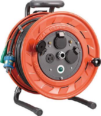 ハタヤ 単相100V型コードリール 30m アース付【AP-301K】(コードリール・延長コード・コードリール100V)【S1】