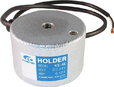 カネテック 薄形電磁ホルダー【KE-4E】(マグネット用品・電磁ホルダ)