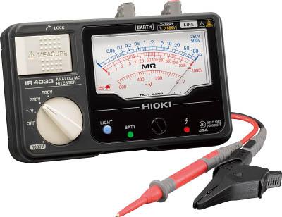 HIOKI メグオームハイテスタ【IR4033-10】(計測機器・電気測定器)