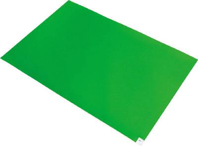 ブラストン 弱粘着マット-緑【BSC-84003-G】(床材用品・クリーンマット)