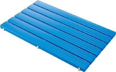 コンドル YSカラースノコセフティ抗菌B型(キャップ付)ブルー【F-115-3-B-BL】(床材用品・スノコ)
