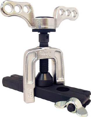 スーパー フレキ管ツバ出し工具(ラチエッット機構式)【TH1320R】(水道・空調配管用工具・フレアリングツール)