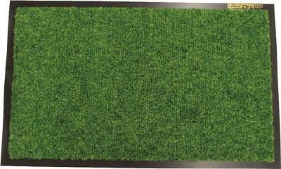 コンドル (屋内用マット)ロンステップマット #15 R8 緑【F-1-15 GN】(床材用品・マット)
