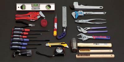 超人気高品質 プロ用配管工具セット 24点セット【PK-H1】(工具セット・手提げタイプ):リコメン堂 TRUSCO ピカイチ-DIY・工具