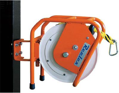 Reelex バリアリール ロープタイプ 外径12.0mm×10m【BRR-1210】(安全用品・標識・カラーコーン)