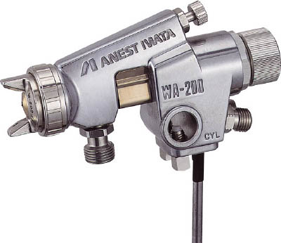 アネスト岩田 大形自動ガン ノズル口径 Φ2.0 WA200202P