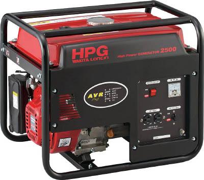 MEIHO エンジン発電機 HPG-2500 50Hz HPG250050【S1】