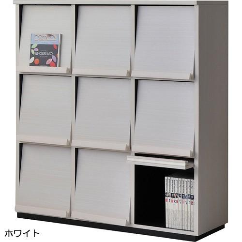【wal-fit ウォルフィット】 キャビネット WF-1212DP  ホワイト (代引不可)【送料無料】