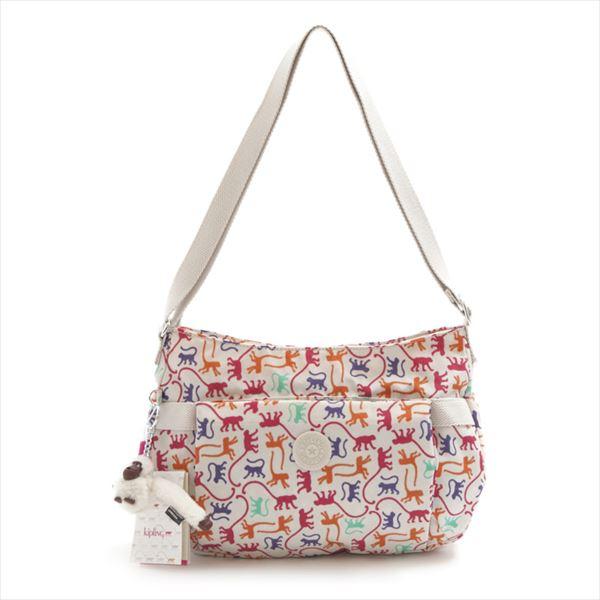 Kipling K13382 029 Velda Qvc Monkey Mania Shoulder Bag