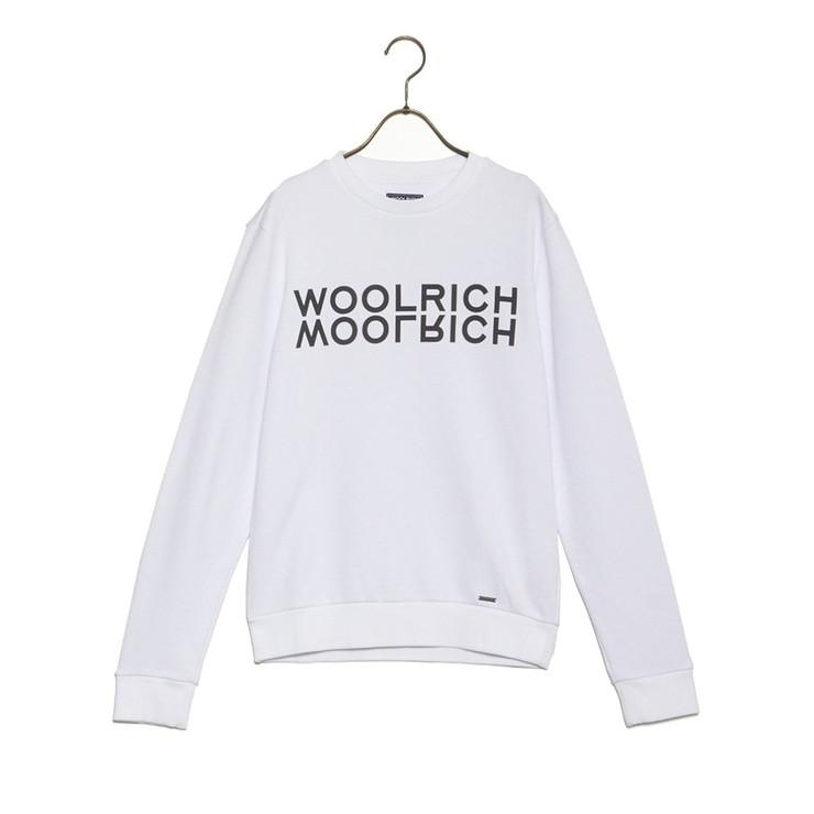WOOLRICH Tシャツ LUXURY LOGO CREW NECK WOFEL1124 LL05 メンズ OPTIC WHITE A 892A ウールリッチ【送料無料】【S1】