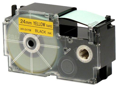 カシオ計算機 デポー ネームランド用テープカートリッジ 与え XR-24YW