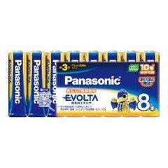 パナソニック 再販ご予約限定送料無料 エボルタ乾電池単3 ※アウトレット品 8SW LR6EJ