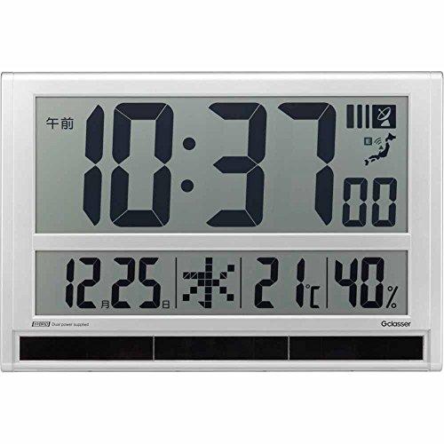 キングジム キングジム 時計 ハイブリッドデジタル電波時計 GDD-001