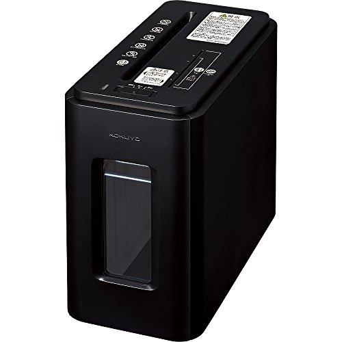 コクヨ デスクサイドマルチシュレッダー Silent-Duo アーバンブラック KPS-MX100D