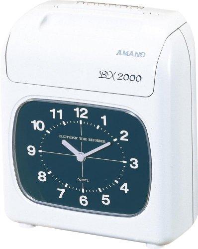 アマノ 電子タイムレコーダー BX2000【ポイント10倍】