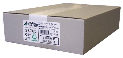 エーワン PPCラベルA4 28765【S1】
