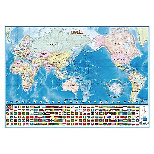 デビカ いろいろ書ける 消せる 捧呈 73102 賜物 世界地図