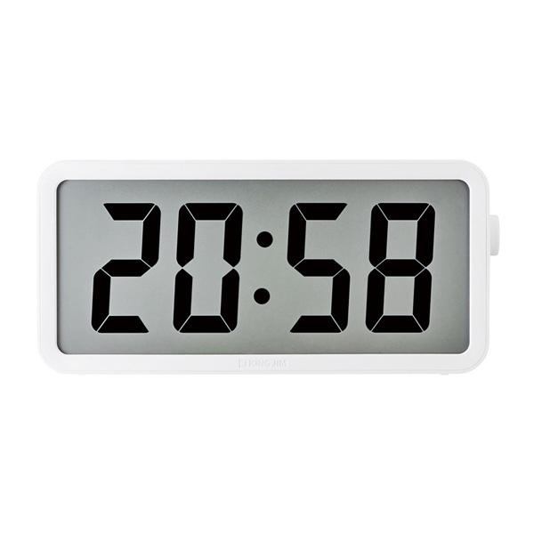 キングジム ザ ラージ タイマークロック DTC-001W 時計 デジタル時計 大型 業務用 学校