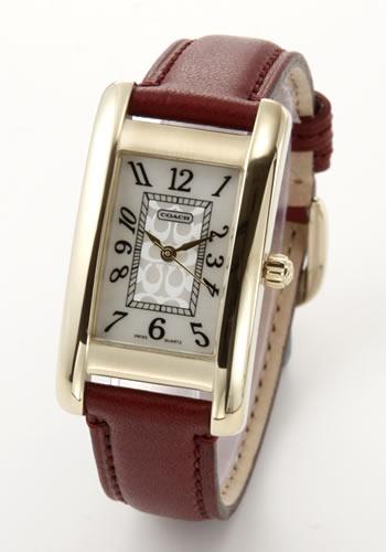 コーチ COACH レディス 腕時計 Lexington (レキシントン) レザーストラップ 14500965【ポイント10倍】