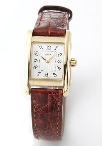 コーチ COACH レディス 腕時計 レザーストラップ・ウオッチ 14500006【ポイント10倍】