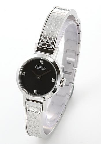 コーチ COACH レディス 腕時計 Studio(ステューディオ) シグネチャーブレス/4Pダイヤ 14501315 (旧型番14501004)【ポイント10倍】