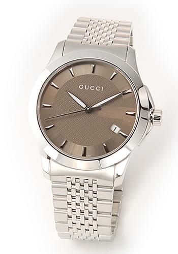 グッチ GUCCI メンズ 腕時計 クラシック メンズ・ブレスウオッチ YA126406【送料無料】【ポイント10倍】