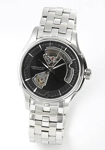 ハミルトン HAMILTON メンズ 腕時計 AMERICAN CLASSIC(アメリカンクラシック・コレクション) Jazzmaster Viewmatic Openheart H32565135【送料無料】【150110coupon500】
