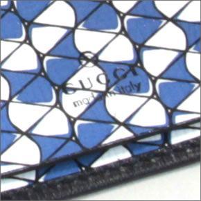 グッチ インターロッキングG 型押しカーフ 6連キーケース ブラック ブルー エレクトリックブルー2014AW256337 ARU5N 4073O8n0Pwk