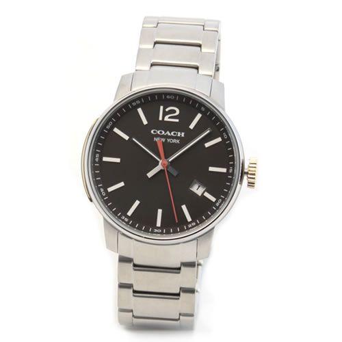 コーチ 上品でシンプルなフォルム。大人カジュアルなメンズ腕時計 14601522【送料無料】【ポイント10倍】