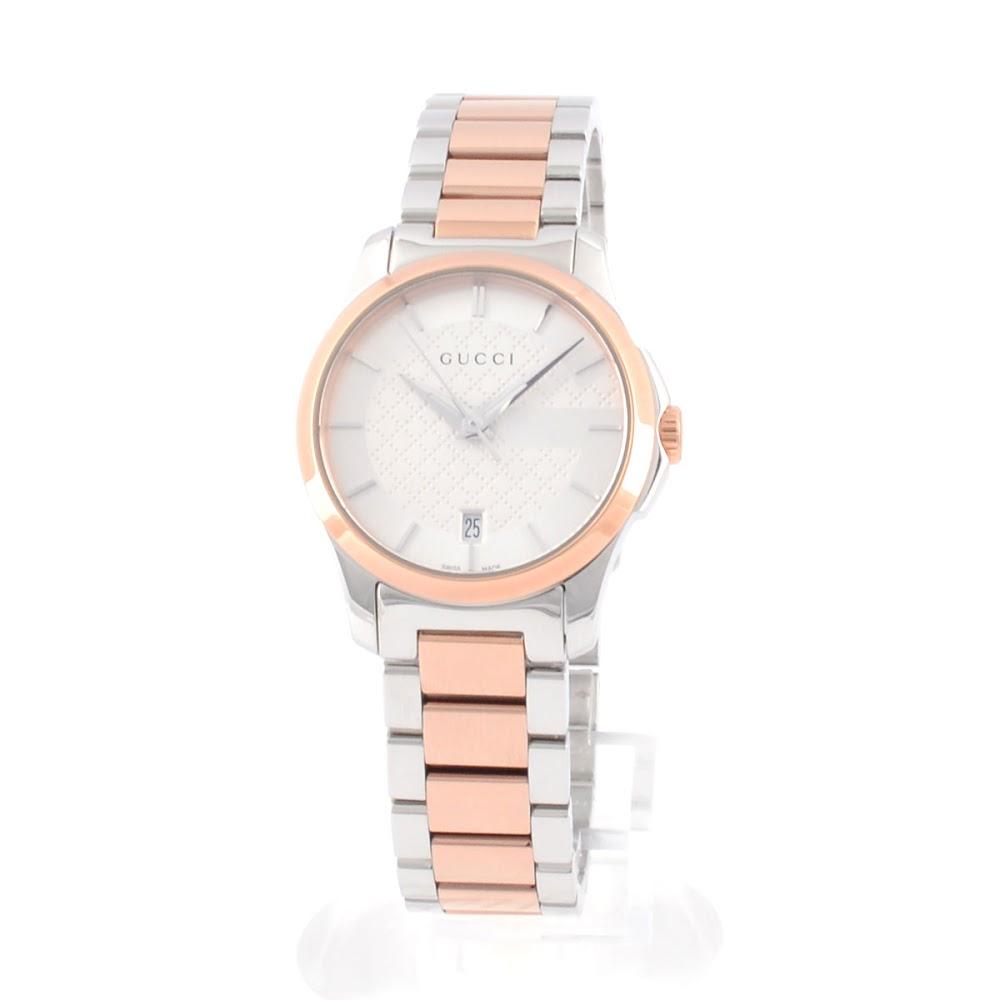 グッチ GUCCI YA126528 G-タイムレス コレクション クォーツ スモール レディス腕時計【送料無料】【ポイント10倍】