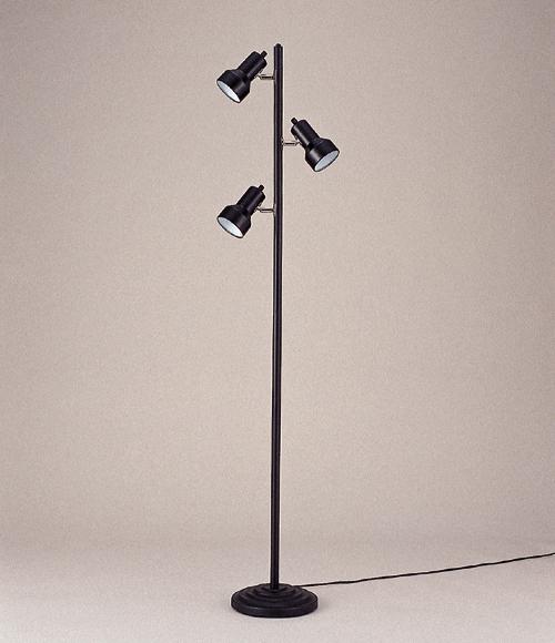 フロアスタンドライト 照明 ライト リビング CL-3501BZ おしゃれ ブラック 黒色(代引不可)【送料無料】