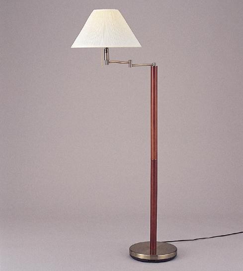 フロアスタンドライト 照明 ライト リビング G9825DW-ABEFZ おしゃれ 木目 ゴールド(代引不可)【送料無料】【int_d11】