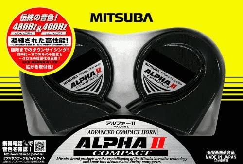定番から日本未入荷 車 ホーン 大人気 ミツバサンコーワ MITSUBA アルファーコンパクトミツバ HOS-04G アルファー2