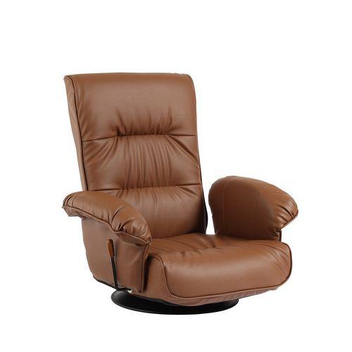 チェア チェアー リクライニングチェア ラミーテ フロアチェア座椅子 リクライニング座椅子 360度回転(代引不可)【送料無料】