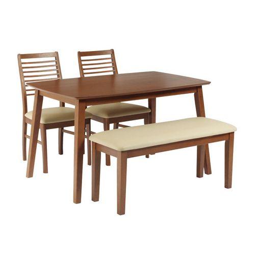 ダイニングテーブル4点セット ダイニングセット 4人掛け ラフィネ ダイニング4点セット (135幅/4人掛け用)(代引不可)【送料無料】