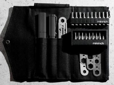マルチ工具 ツールペンミニ フルセット ガンメタル mininch mininch-full-gun【送料無料】【int_d11】