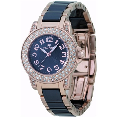 Folli Follie フォリフォリ WF9B020BPK レディース 腕時計【送料無料】【ポイント10倍】