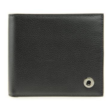 ハンティングワールド HUNTING WORLD 207 371 BLACK 二つ折り財布(小銭入れ付) メンズ