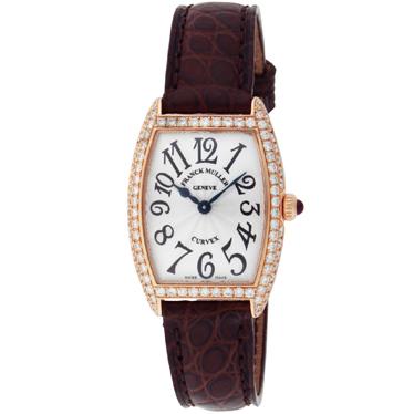 FRANCK MULLER フランク・ミュラー トノーカーベックス 1752 QZ D SLV-BRW 5N 腕時計 レディース【送料無料】