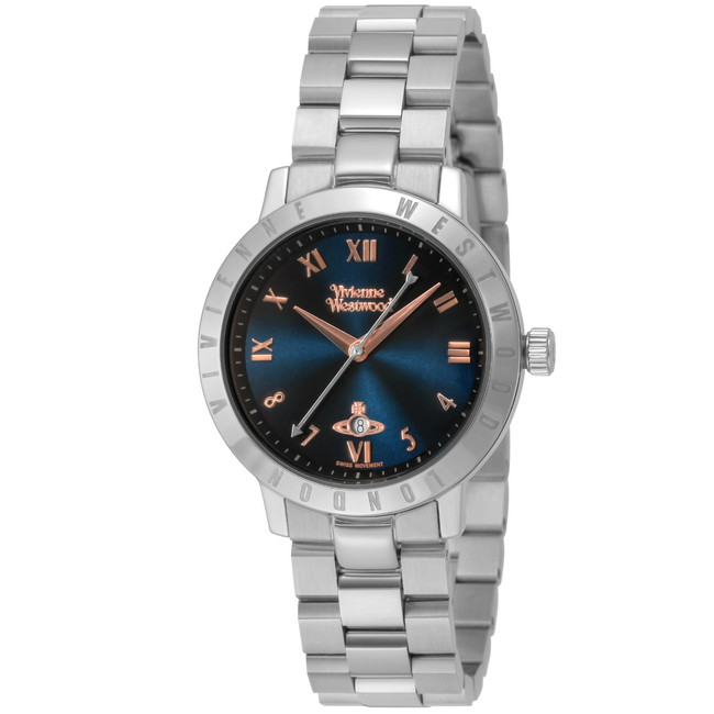 VivienneWestwood ヴィヴィアン・ウエストウッド VV152NVSL ブランド 時計 腕時計 レディース 誕生日 プレゼント ギフト(代引不可)【送料無料】