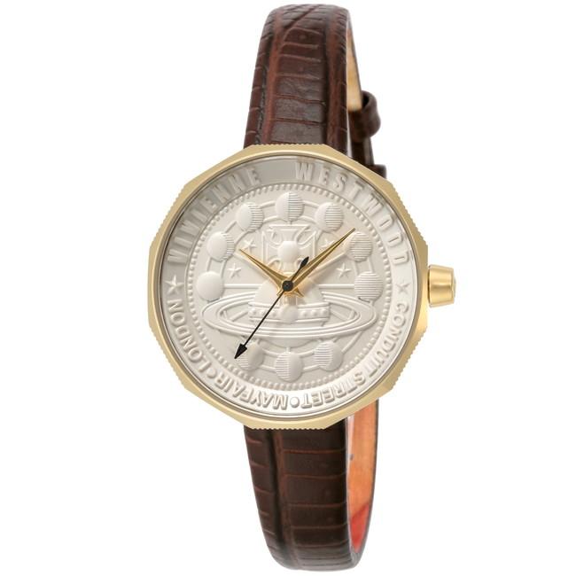 VivienneWestwood ヴィヴィアン・ウエストウッド VV171GDBR ブランド 時計 腕時計 レディース 誕生日 プレゼント ギフト(代引不可)【送料無料】