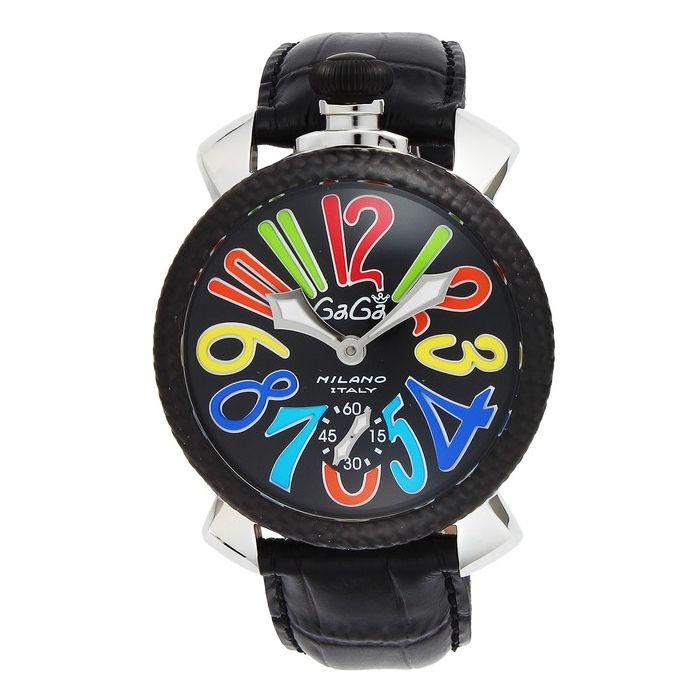 GaGaMILAN ガガミラノ 5015.01S-BLK ブランド 時計 腕時計 メンズ 誕生日 プレゼント ギフト カップル()【ポイント10倍】【送料無料】