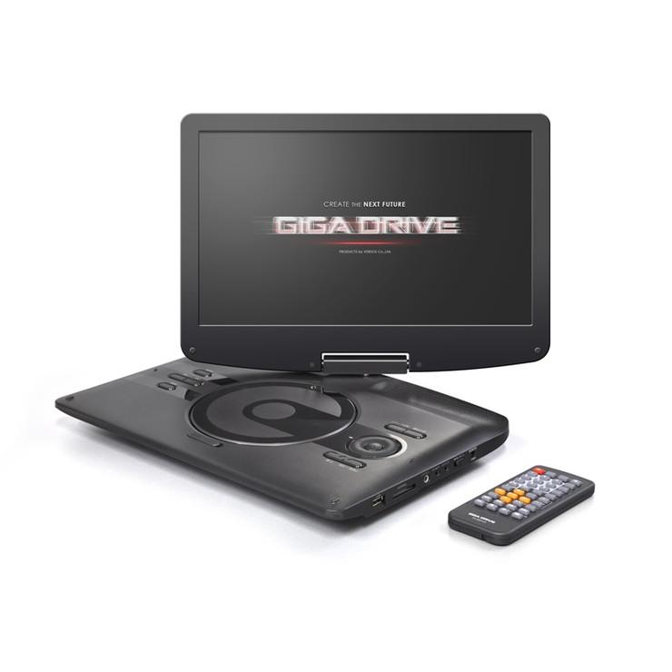 ベルソス 12.5インチ ポータブルDVDプレーヤー CPRM対応 VS-GD4125 持ち運び 音楽 画像【送料無料】