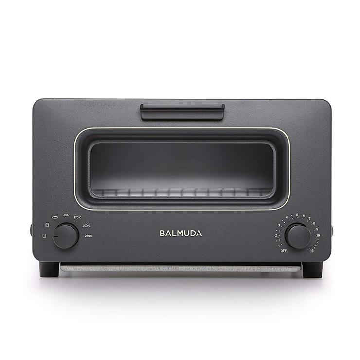 バルミューダ ザ トースター 1300W K01E-KG BALMUDA The Toester ブラック トースター オーブントースター スチーム【送料無料】【S1】
