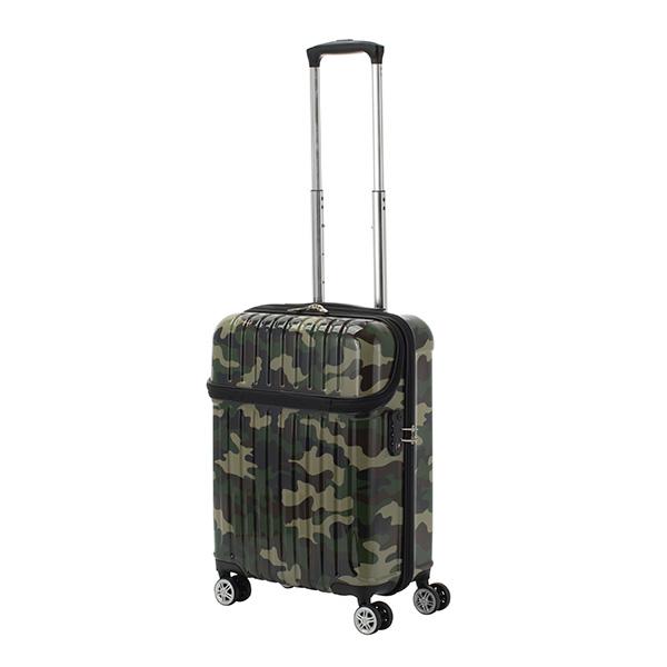 キャリーバッグ Sサイズ 機内持ち込み可 3日間 33L トップオープン ジッパーハード トップス 迷彩 スーツケース 旅行 大容量(代引不可)【送料無料】